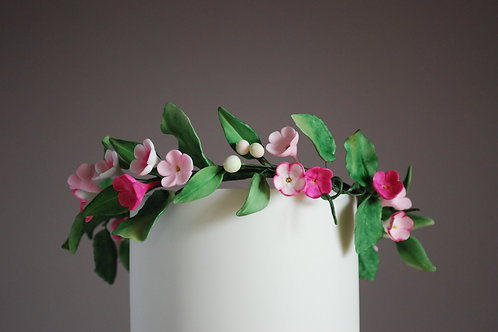 Online Workshop -Sugar Floral Crown
