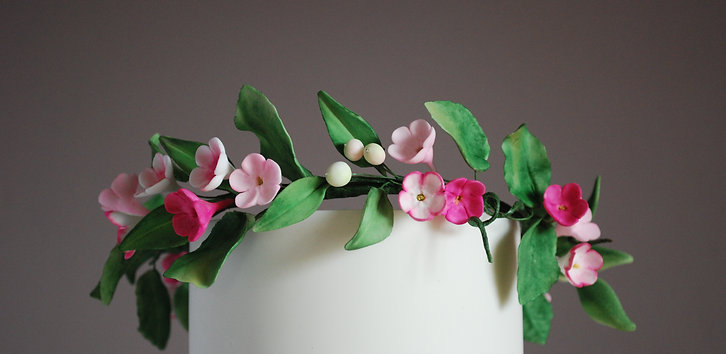 Online Workshop -Sugar Floral Crown
