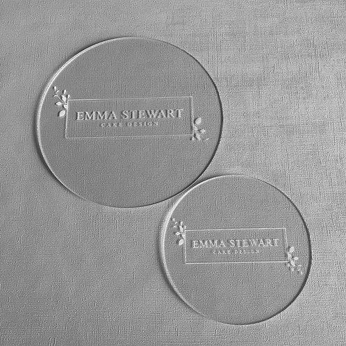 Round Ganache Discs