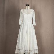 미디움레이스 드레스