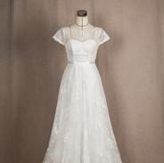레이스 A라인 드레스