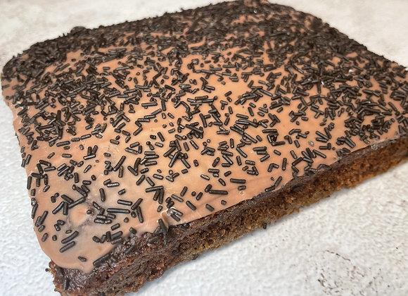 Chocolate Old School Sponge Tray