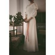 퍼프소매 드레스