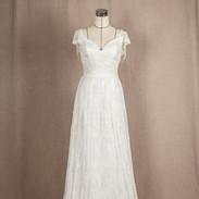 비즈레이스 드레스
