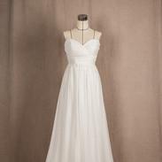심플엠파이어라인 드레스