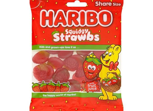 HARIBO STRAWBERRIES 140g