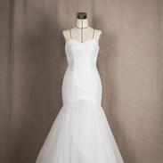 머메이드라인 드레스