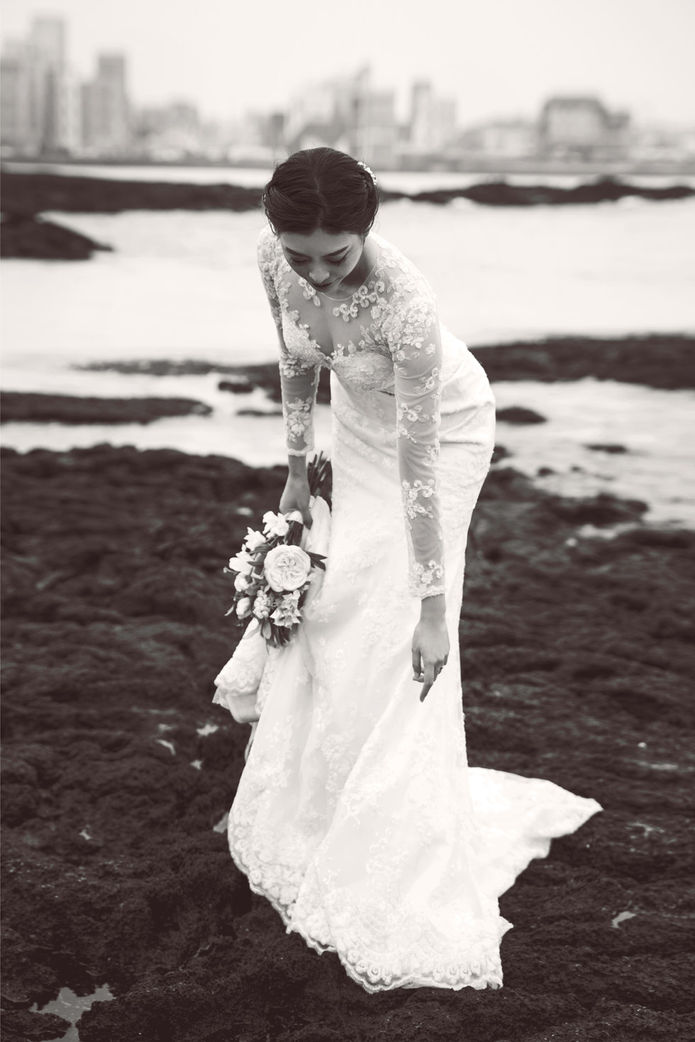 Jeju wedding snap