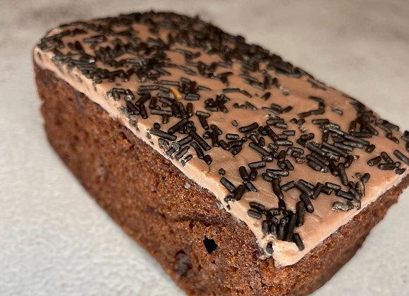 Chocolate Old School Sponge Slice