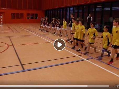 U11 M : retour en vidéo sur leur match vs. HBCN