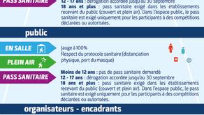 Mot du Bureau - Reprise et Pass Sanitaire