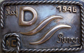 Dad's belt buckle