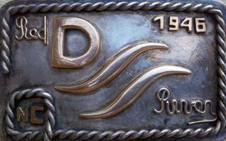 Dad's belt buckle