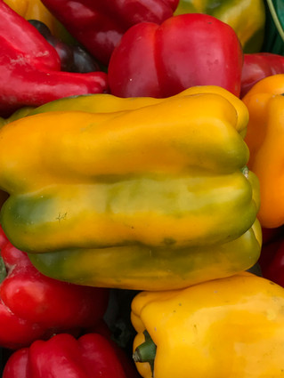 Fresh peppers - Italy 2017