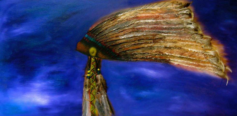Headress by Francine Cunningham