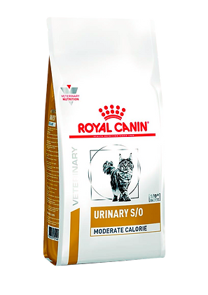 Сухой корм Royal Canin Urinary S/O Moderate Calorie диета для кошек при МКБ