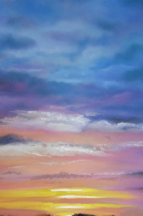 Cora Mullenger - Hickling Sunset