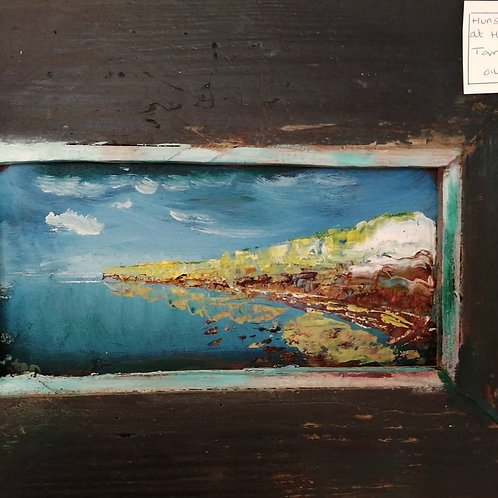 High tide at Hunstanton Cliffs by Tom