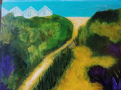 Hunstanton dunes by Sarah Heather