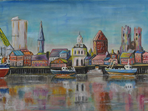 'Across the Ouse' by Chris Peel