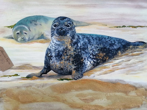 Brancaster Seals - Maxine Byron