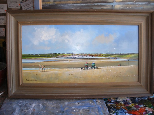 'Towards Wells from the Lifeboat Station'  by Mike Smith