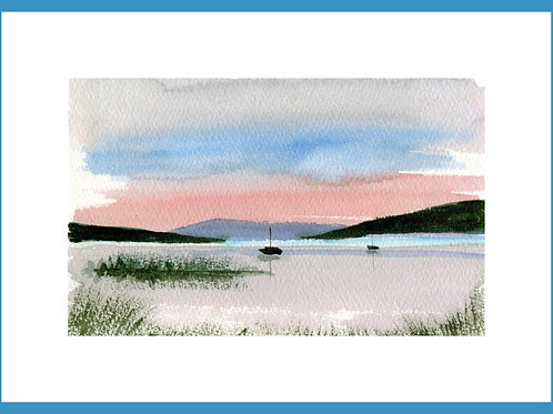 Tranquil Mooring by Helena Anderson