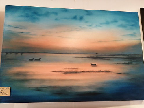 'Brancaster Staithe' by Maxine Byron