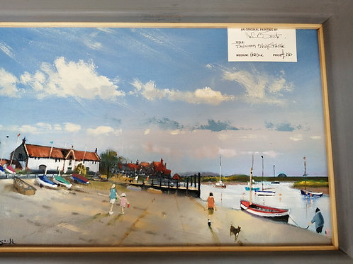 Burnham Overy Staithe by Mike Smith