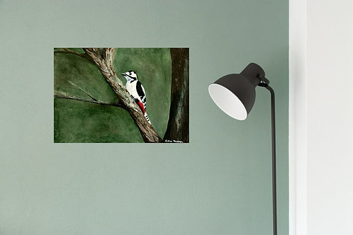 'Great Spotted Woodpecker' by Gillian Thompson