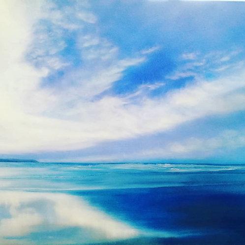 """Blue Sunday' by Maxine Byron"