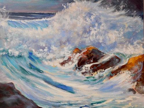 The sea by Jill Ilett