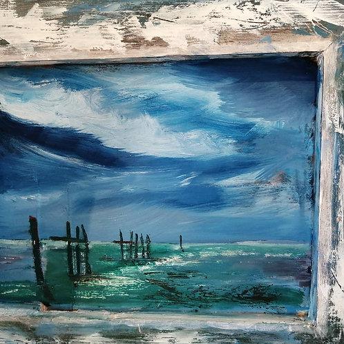 'Breakers at Hunstanton' by Tom