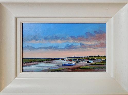 Morning in Morston by Jill Ilett