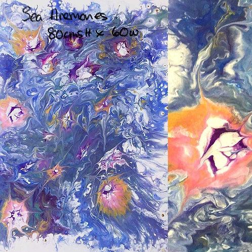 'Sea Anemones' by Susan Lynda Taylor