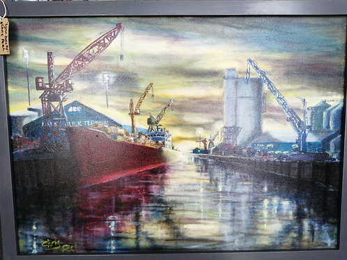 Lynn Docks by Chris Peel