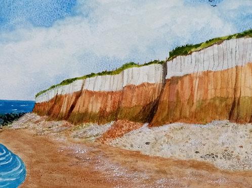 'Hunstanton rocks!' by Lynne Rackstraw