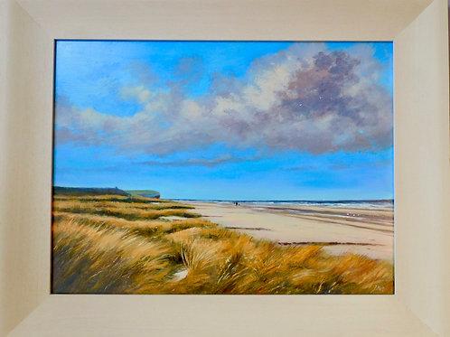 Sand dunes, Hunstanton by Jill Ilett