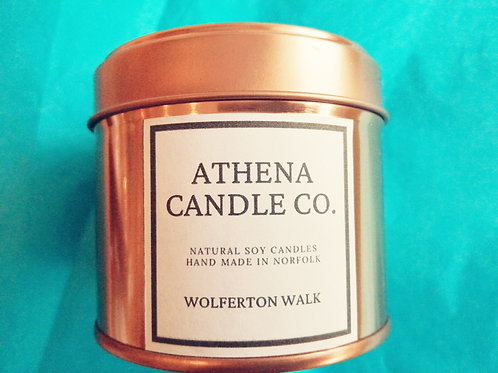 Athena Candle Co, various scents