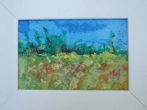 'Norfolk Fields' by Val Philpot