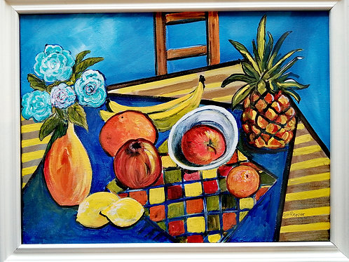 'Table and fruit' by Gill Repper