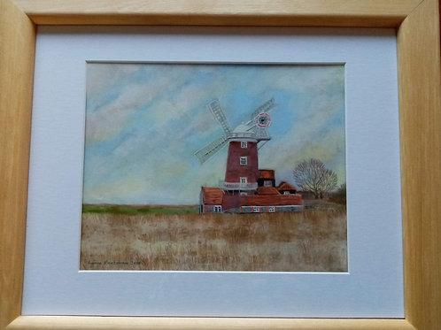 Lynne Rackstraw - Cley Windmill