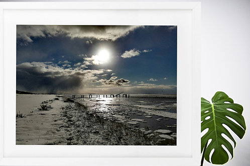 Winter at Snettisham RSPB by Jacqueline Louise