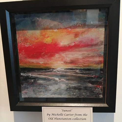 'Hunstanton Sunset' by Michelle Carter
