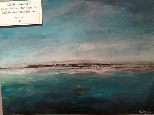'Old Hunstanton 1' by Michelle Carter