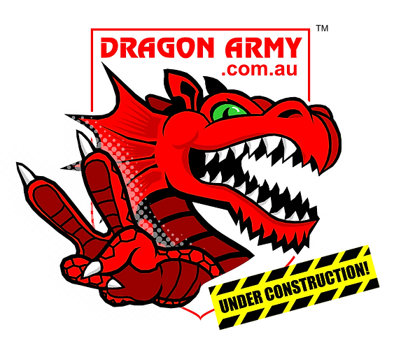DragonArmy.com.au - Under Construction