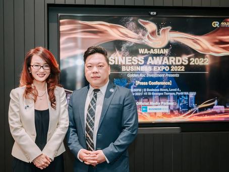 WA-ASIAN Business Awards 2022 – the FIRST in Australia showcasing Asian entrepreneurs.