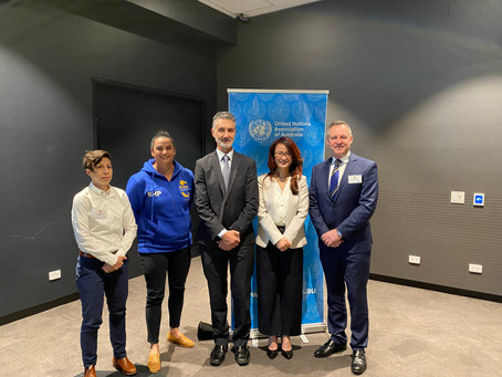 AFL West Coast Eagles Club soars to new heights with United Nations SDGs