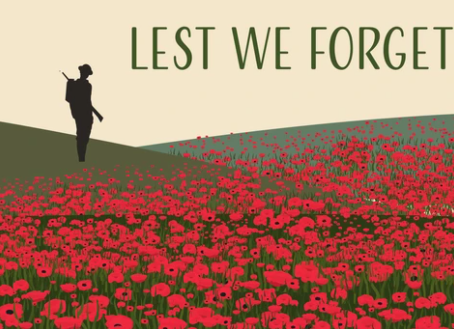 Lest We Forget – ANZAC DAY 2021