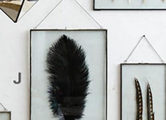 Iron-Edged Hanging Frame 14x20